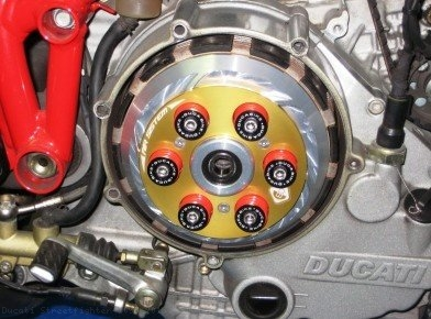 Air System Dry Clutch Pressure Plate by Ducabike Ducati / Streetfighter 1098 / 2013