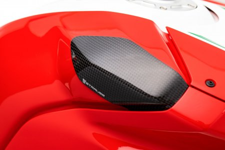 Carbon Fiber RACE Version Tank Slider Kit by Strauss Carbon