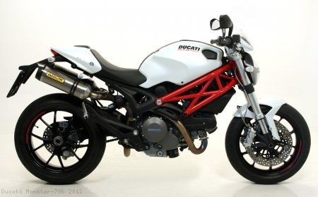 Street Thunder Slip-On Exhaust by Arrow Ducati / Monster 796 / 2012