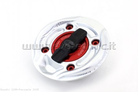 Rapid Release Billet Aluminum Gas Cap by Evotech Italy Ducati / 1299 Panigale / 2015