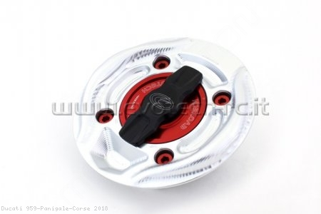 Rapid Release Billet Aluminum Gas Cap by Evotech Italy Ducati / 959 Panigale Corse / 2018
