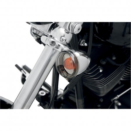 Smoked Turn Signal Lens Kit by Drag Specialties