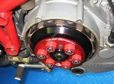 Air System Dry Clutch Pressure Plate by Ducabike Ducati / Hypermotard 796 / 2011