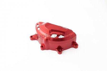 Left Side Engine Case Guard by Evotech Italy