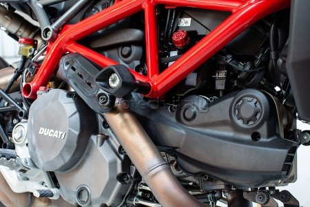 Anti-Shock Frame Sliders by Evotech Italy Ducati / Hypermotard 950 SP / 2019