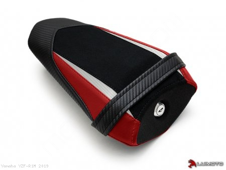 "Luimoto ""TEAM"" PASSENGER Seat Cover Yamaha / YZF-R1M / 2019"
