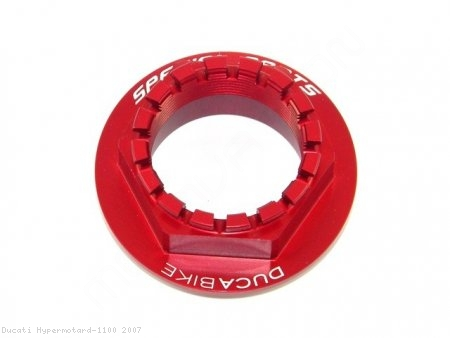 Rear Wheel Axle Nut by Ducabike Ducati / Hypermotard 1100 / 2007