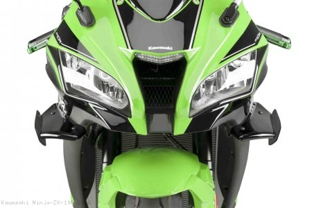 Downforce Spoiler Winglets by Puig Kawasaki / Ninja ZX-10R / 2016