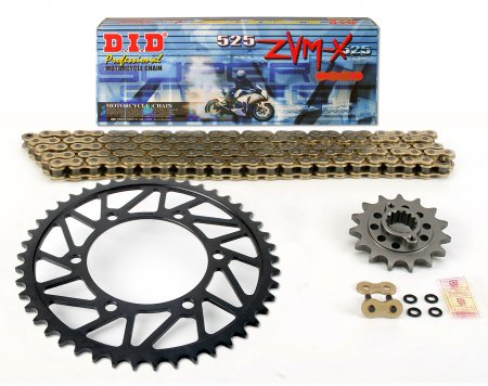 Superlite RS7 525 Sprocket and Chain Kit - Forged Wheel Version