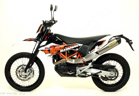 Race-Tech Exhaust by Arrow KTM / 690 SMC / 2012