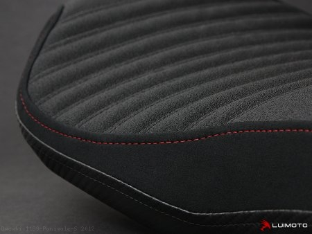 "Luimoto ""CORSA EDITION"" RIDER Seat Cover Kit Ducati / 1199 Panigale S / 2012"