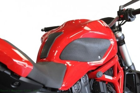 Snake Skin Tank Grip Pads by TechSpec Ducati / Monster 1200S / 2017