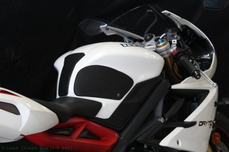 Snake Skin Tank Grip Pads by TechSpec Triumph / Street Triple R / 2013