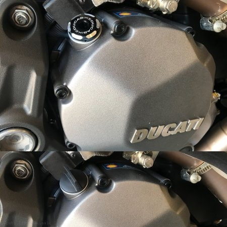 Engine Oil Filler Cap by Ducabike Ducati / 1199 Panigale / 2013