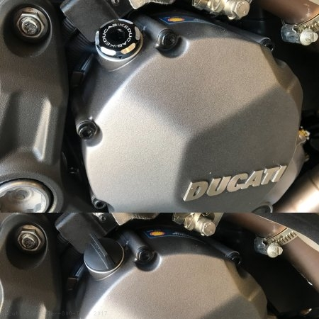 Engine Oil Filler Cap by Ducabike Ducati / Scrambler 800 Icon / 2017
