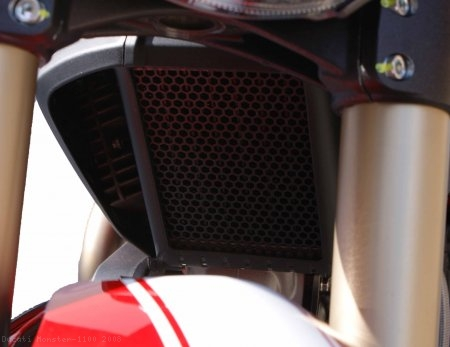 Oil Cooler Guard by Evotech Performance Ducati / Monster 1100 / 2008