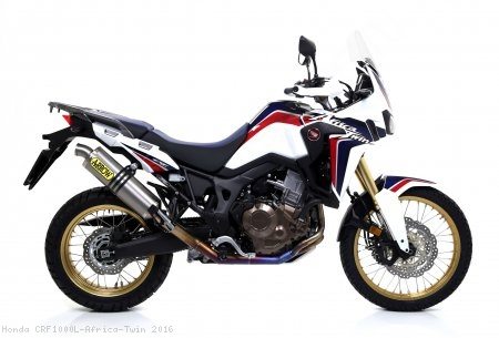 Titanium Racing Full System Exhaust by Arrow Honda / CRF1000L Africa Twin / 2016