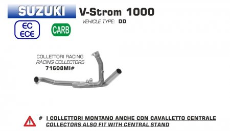 Stainless Steel Racing Headers by Arrow
