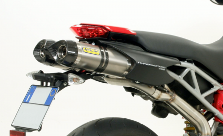 """Short"" Slip On Exhaust by Arrow"