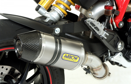 Slip On Exhaust by Arrow Ducati / Hyperstrada 939 / 2016
