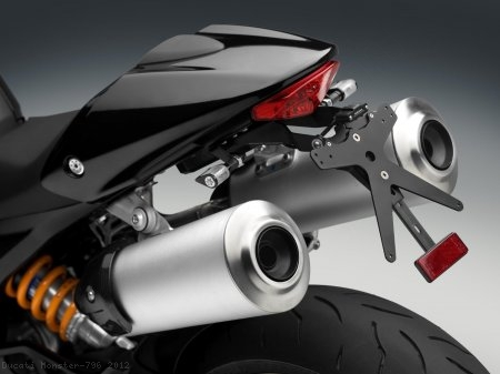 Rizoma License Plate Tail Tidy Kit Ducati / Monster 796 / 2012
