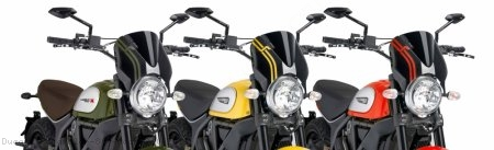 PUIG Naked New Generation Windscreen Ducati / Scrambler 800 Mach 2.0 / 2019