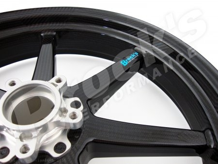 7 Spoke Carbon Fiber Wheel Set by BST Ducati / 1299 Panigale S / 2015