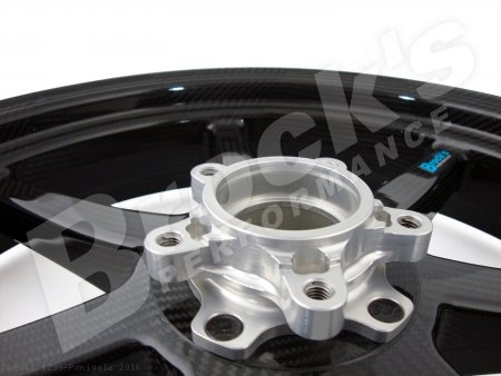 7 Spoke Carbon Fiber Wheel Set by BST Ducati / 1299 Panigale / 2016