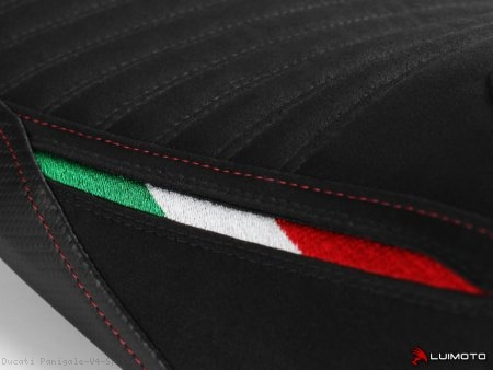 Corsa Edition Rider Seat Cover by Luimoto Ducati / Panigale V4 Speciale / 2018