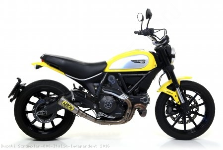 Pro Race Exhaust by Arrow Ducati / Scrambler 800 Italia Independent / 2016