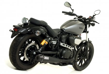 Rebel Dark Slipon Exhaust by Arrow
