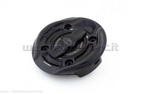 Rapid Release Billet Aluminum Gas Cap by Evotech Italy Ducati / 1199 Panigale S / 2012