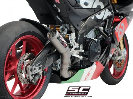 CR-T Exhaust by SC-Project Aprilia / RSV4 RR / 2016