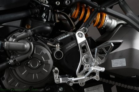 Adjustable Rearsets by AELLA Ducati / Monster 1200 / 2018