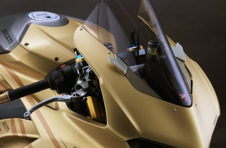 Mirror Block Off Kit by AELLA Ducati / Panigale V4 S / 2019