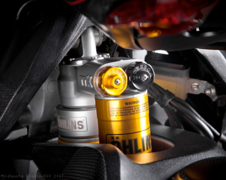 Ohlins Rear Shock by MotoCorse MV Agusta / Rivale 800 / 2017