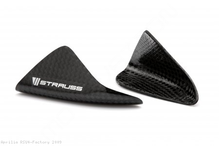 Carbon Fiber Street Version Tail Slider Kit by Strauss Carbon Aprilia / RSV4 Factory / 2009