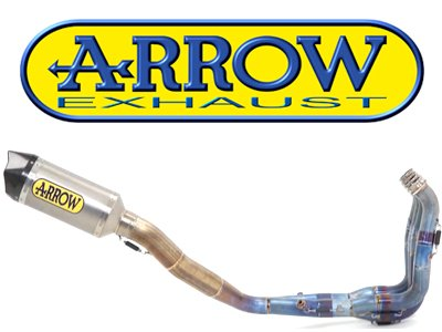 """EVO"" Competition Full Exhaust System by Arrow"
