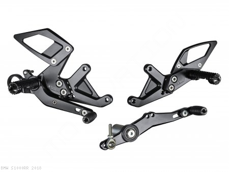 Adjustable Rearsets by Bonamici BMW / S1000RR / 2018
