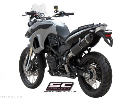 Oval Exhaust by SC-Project BMW / F650GS / 2008