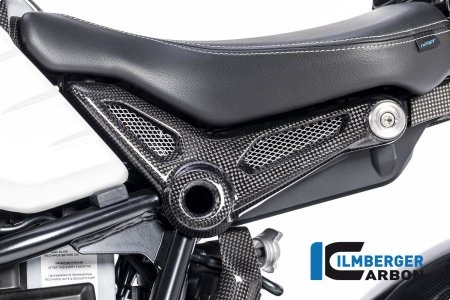 Carbon Fiber Frame Cover by Ilmberger Carbon BMW / R nineT / 2017