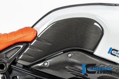 Carbon Fiber Side Tank Cover by Ilmberger Carbon BMW / R nineT Urban GS / 2017