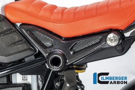 Carbon Fiber Frame Cover by Ilmberger Carbon BMW / R nineT Racer / 2016