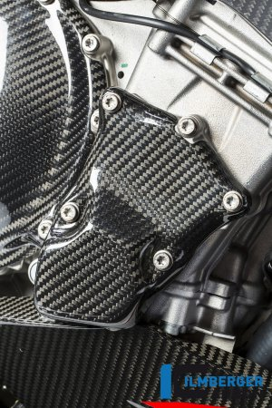 Carbon Fiber Ignition Rotor Cover by Ilmberger Carbon