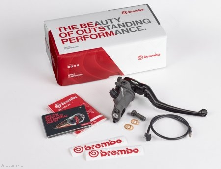 Corsa Corta Radial Brake Master Cylinder 19 RCS by Brembo Universal