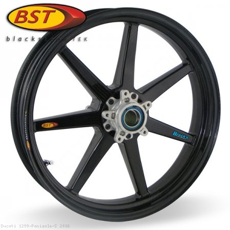 7 Spoke Carbon Fiber Wheel Set by BST Ducati / 1299 Panigale S / 2016