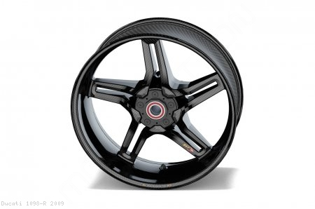 Carbon Fiber Rapid Tek Front Wheel by BST Ducati / 1098 R / 2009