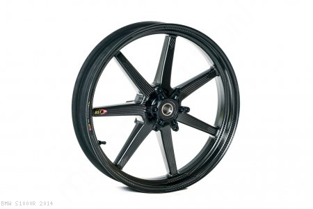 Black Mamba i-Series Carbon Fiber Wheel Set by BST BMW / S1000R / 2014