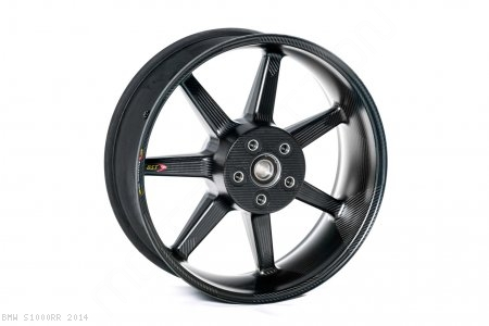 Black Mamba i-Series Carbon Fiber Wheel Set by BST BMW / S1000RR / 2014