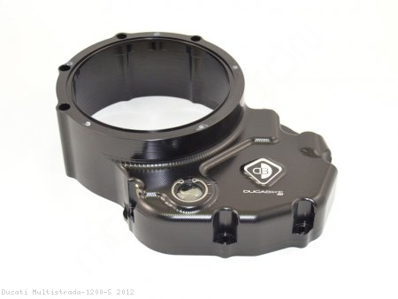 Ducati Wet Clutch Clear Cover Oil Bath with Support Bracket by Ducabike Ducati / Multistrada 1200 S / 2012